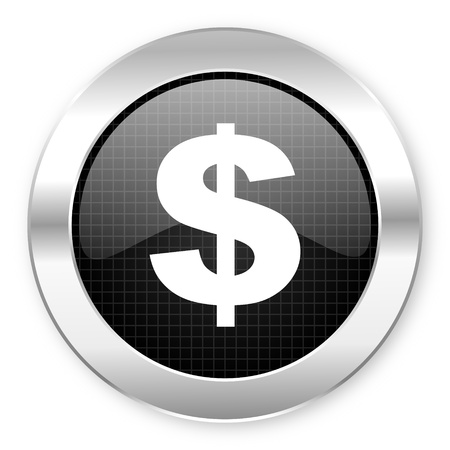 us dollar icon  photo