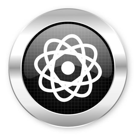 atom icon Stock Photo - 21082654