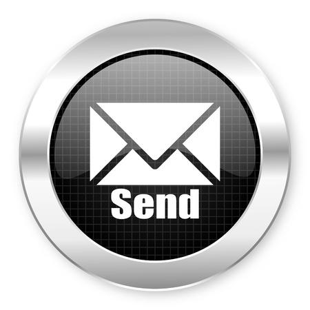send icon Stock Photo - 21068546