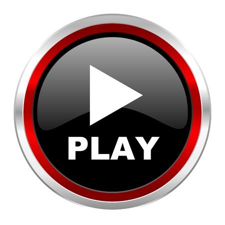 play icon Stock Photo - 21082999