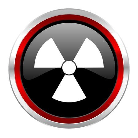 radiation icon Stock Photo - 21083587