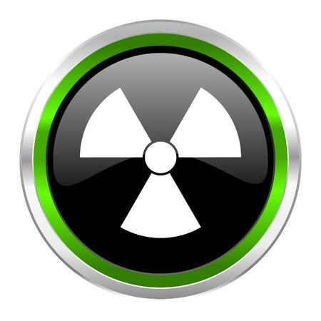 radiation icon Stock Photo - 21088423