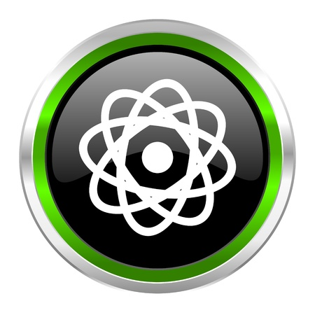 atom icon Stock Photo - 21088381