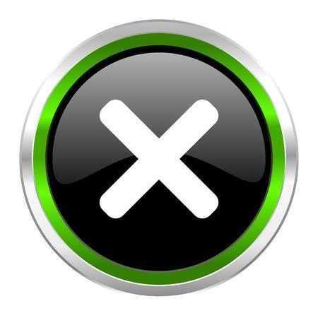 cancel: cancel icon  Stock Photo