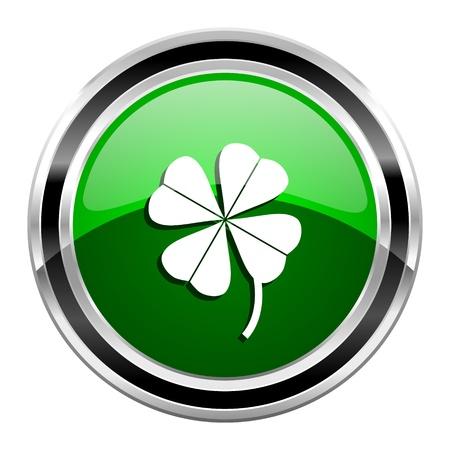 four-leaf clover icon  photo