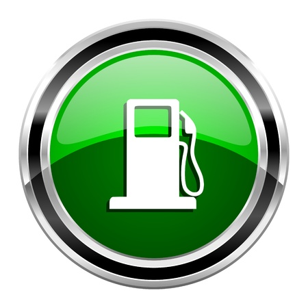 fuel icon Stock Photo - 21442741