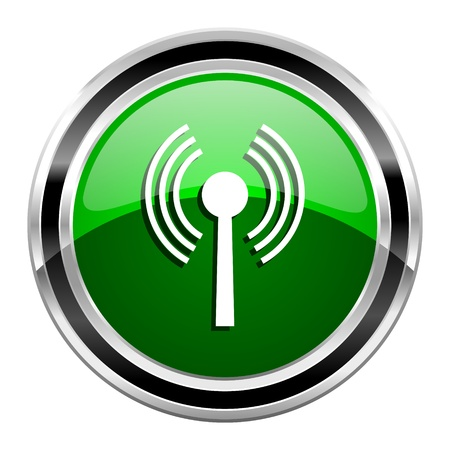 wireless hot spot: wifi icon