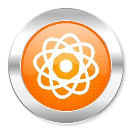 atom icon Stock Photo - 21442960