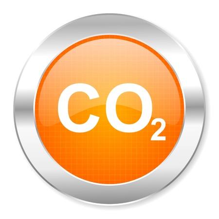 dioxido de carbono: icono de di�xido de carbono