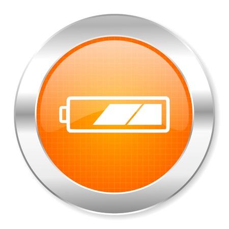 battery icon Stock Photo - 21443176
