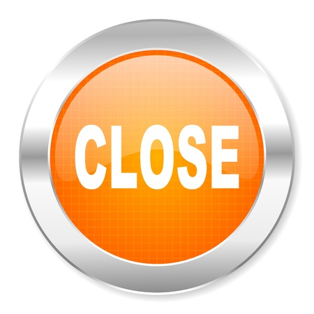 close icon Stock Photo - 21443245