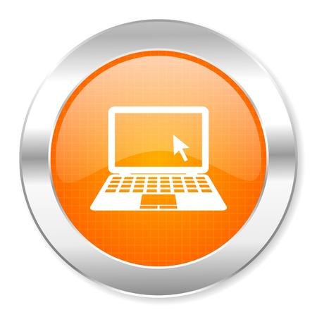 notebook icon Stock Photo - 21443314