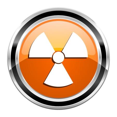 radiation icon Stock Photo - 21861160