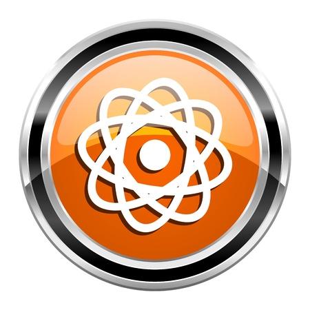 atom icon Stock Photo - 21861298