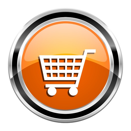 shopping cart icon Stock Photo - 21861462