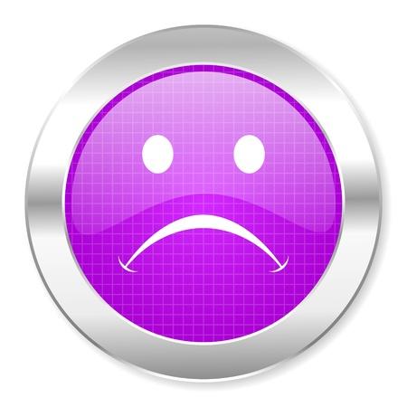 cry icon Stock Photo - 21861789