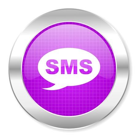 sms icon Stock Photo - 21861972
