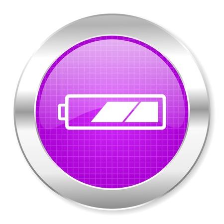 battery icon Stock Photo - 21859805