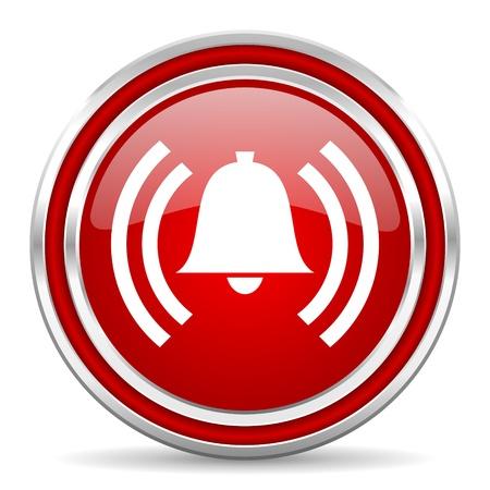 Alarmsymbol Standard-Bild