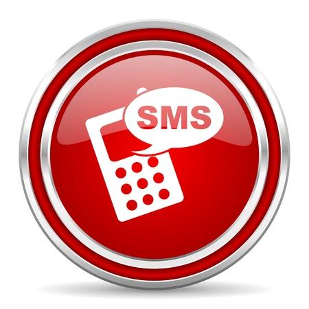sms icon Stock Photo - 21903115