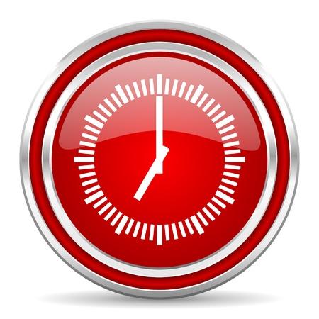 uhr icon: Uhr-Symbol Lizenzfreie Bilder
