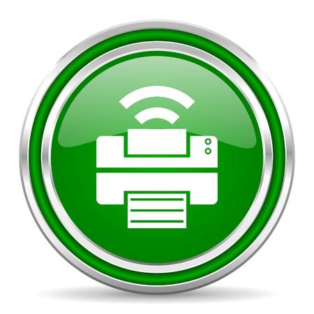 print icon Stock Photo - 21977998