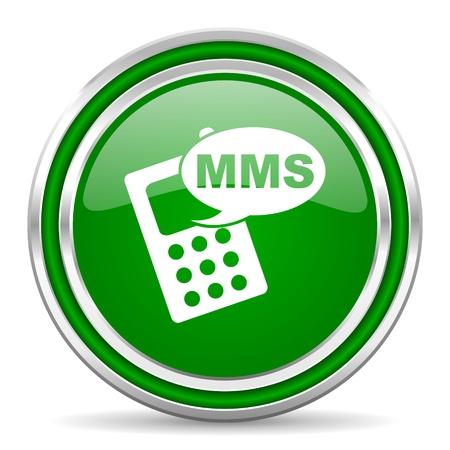 mms icon Stock Photo - 21978010