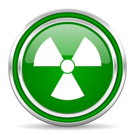 radiation icon  photo