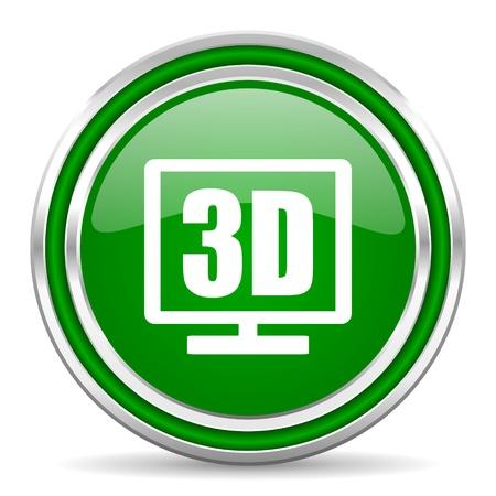 3d display icon  photo