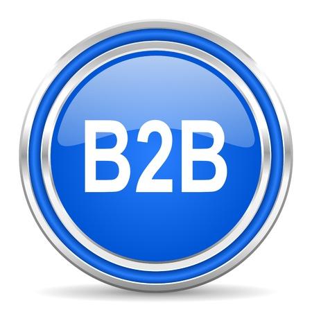 b2b: b2b icon  Stock Photo