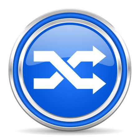 smarthone: aleatory icon  Stock Photo