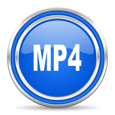 mp4: mp4 icon  Stock Photo