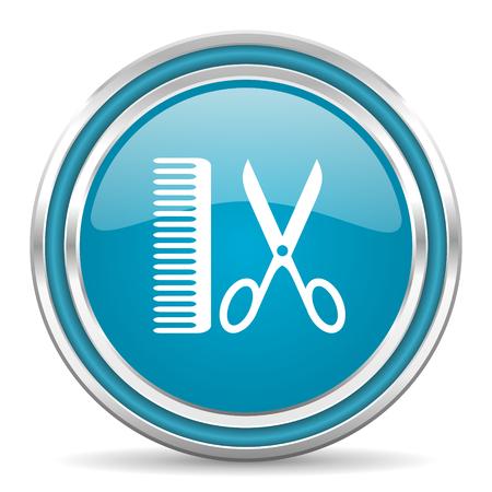 barber icon Stock Photo - 22195433