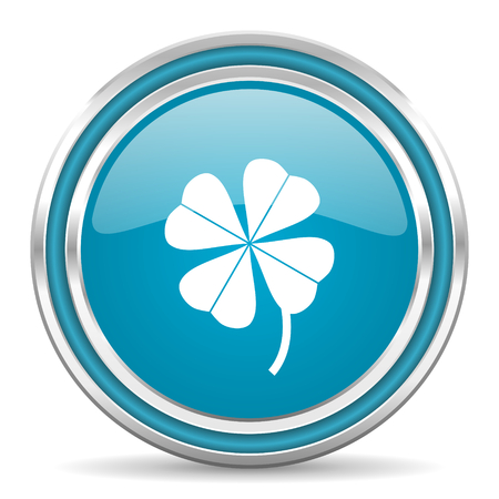 four-leaf clover icon  photo