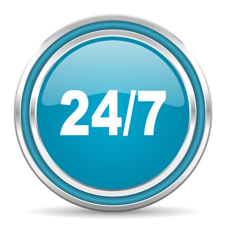 247 icon  photo