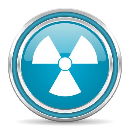 radiation icon Stock Photo - 22195574