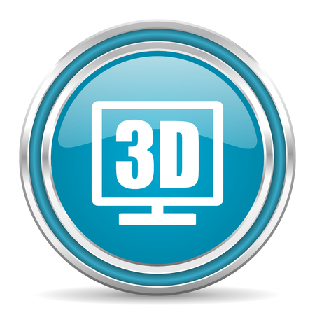 3d display icon  photo