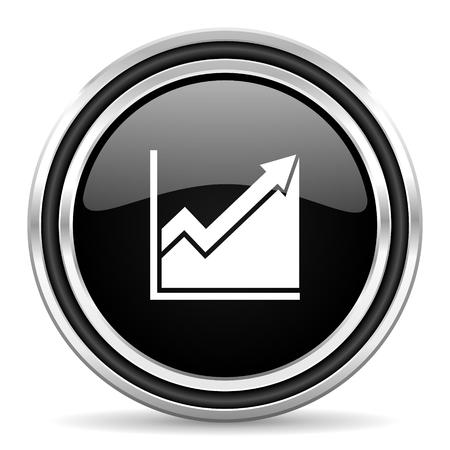 histogram: histogram icon  Stock Photo