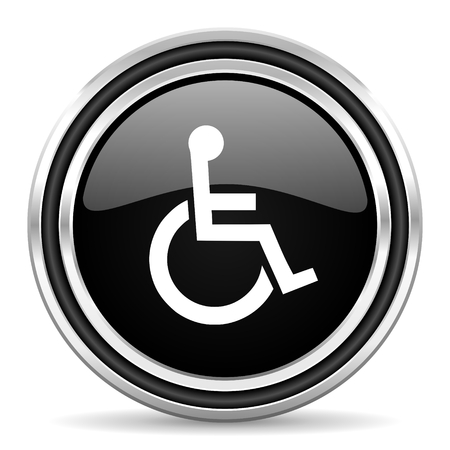 wheelchair icon Stock Photo - 22272646