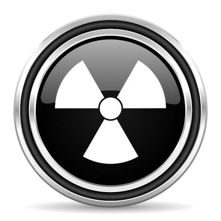 radiation icon Stock Photo - 22272809
