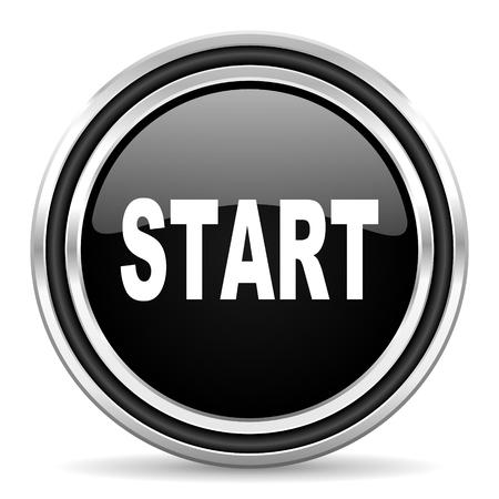 smarthone: start icon  Stock Photo