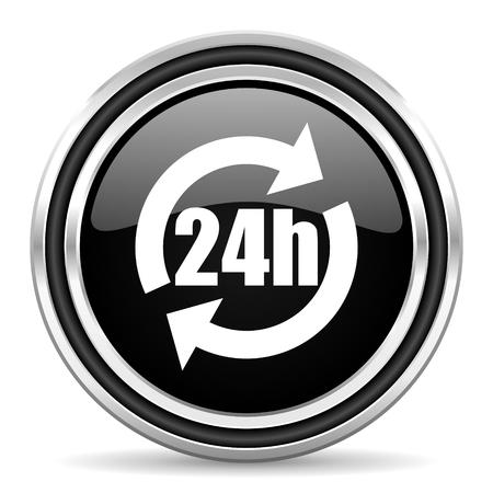 24h icon  photo
