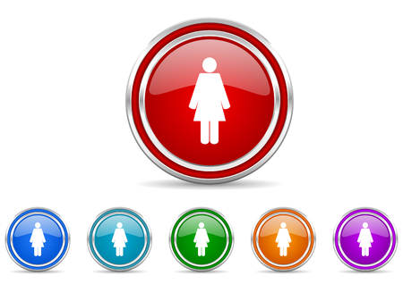 female icon Stock Photo - 22272975