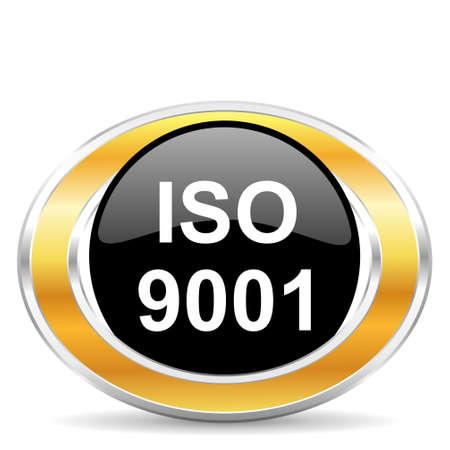 iso: iso 9001 Stock Photo