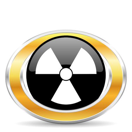 radiation icon, Stock Photo - 22320876