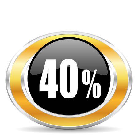 40 percent photo