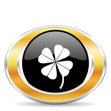 fourleaf: four-leaf clover Stock Photo