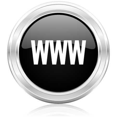 smarthone: www icon  Stock Photo