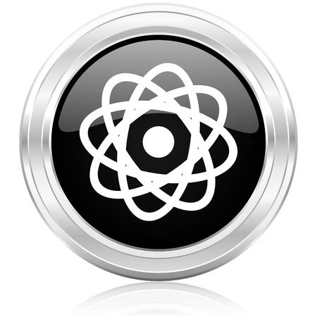 atom icon Stock Photo - 22398690