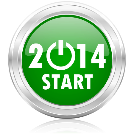 Rok 2014 ikona Zdjęcie Seryjne